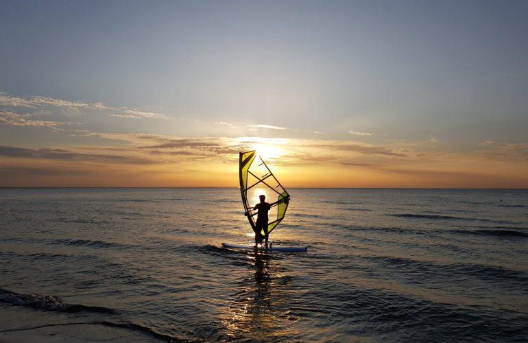 Windsurfen Ostsee Strandurlaub