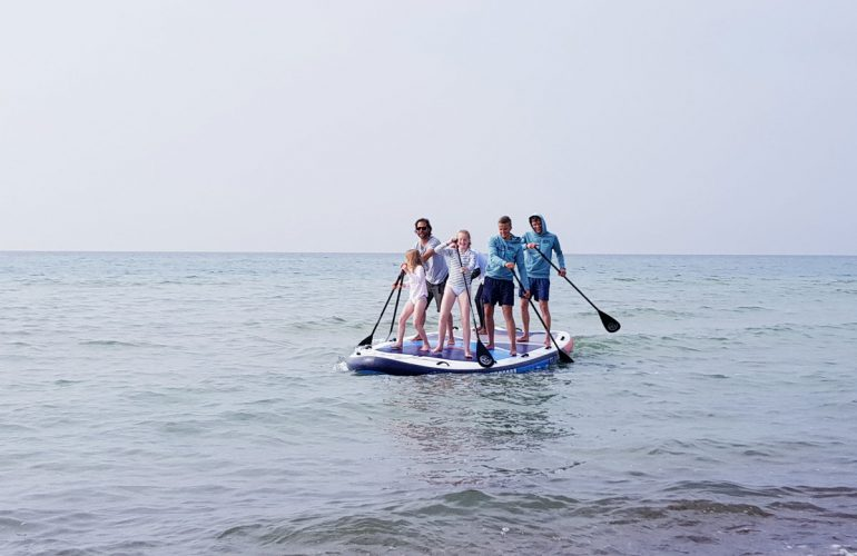 Stand Up Paddling Ostsee Fischland Darss